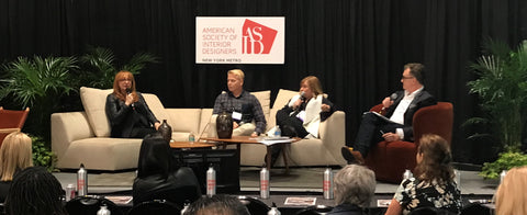 Robin Baron on the panel for American Society of Interior Designers (ASID)