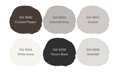 Colors Ways Moody Silver Palette