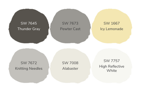 Color Ways Enthusiastic Yellow Palette