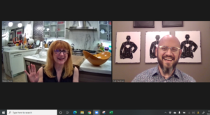 Virtual Meeting with My Team
