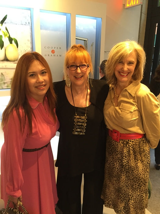 With Jessica Sophia Wong (left) and Julie Schuster