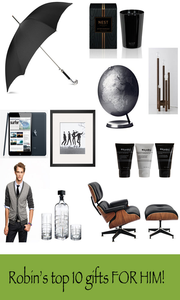 Robin's gift guide: For Him!