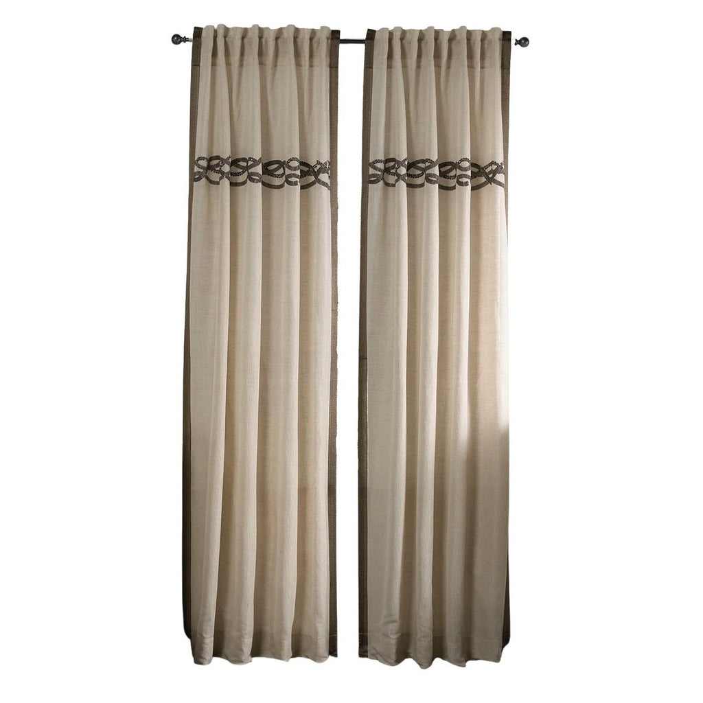 Belle Panel Curtains, long, front view, lifestyle view