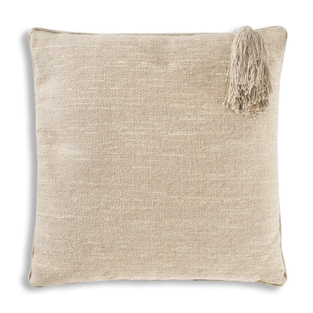 Beige Tarani Pillow, square, front view