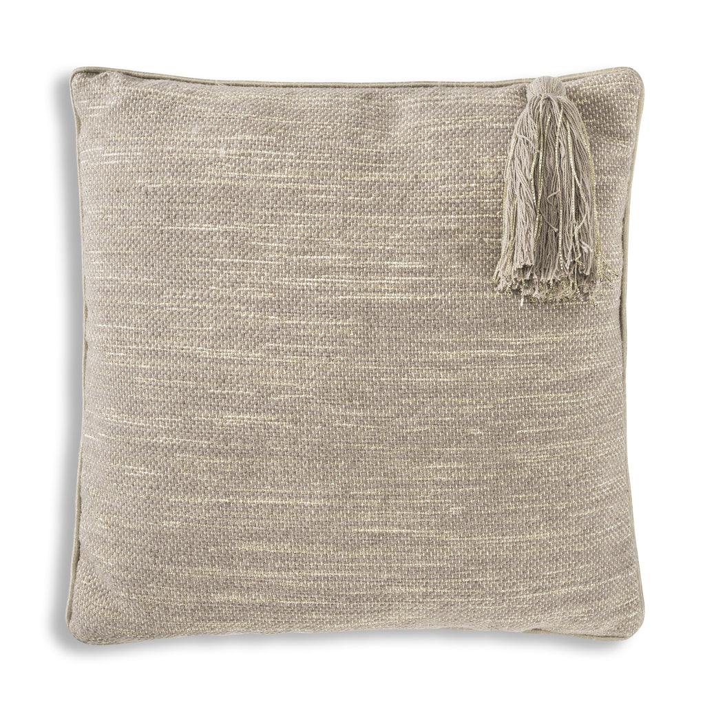 Gray Tarani Pillow, square, front view
