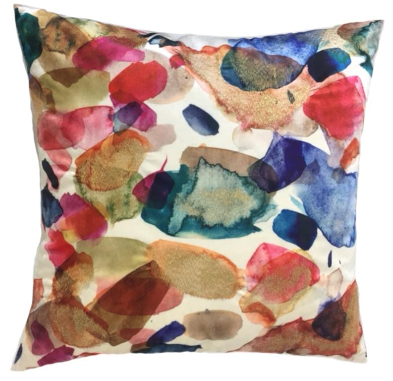 Hannah Pillow, square, front view