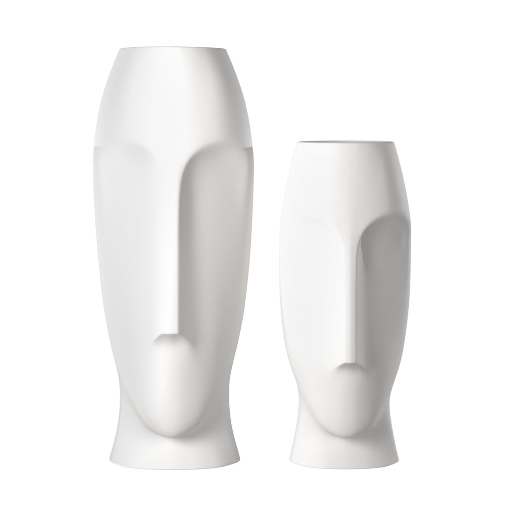 Moai Abstract Vase Set