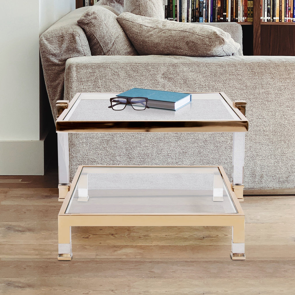 Jaclyn End Table, lifestyle view