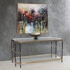 Jackson Brass Console Table, secondary lifestyle view