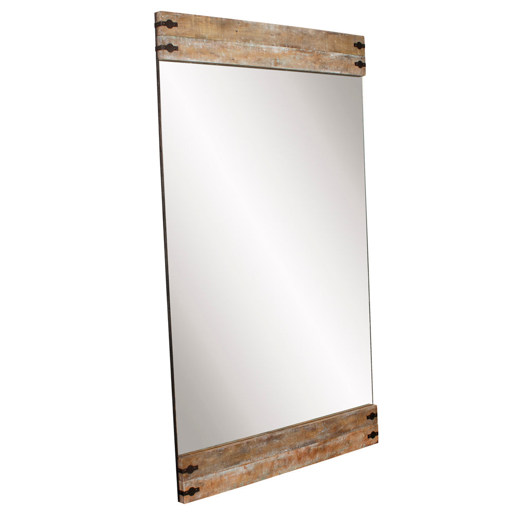 Swank Mirror, angled view