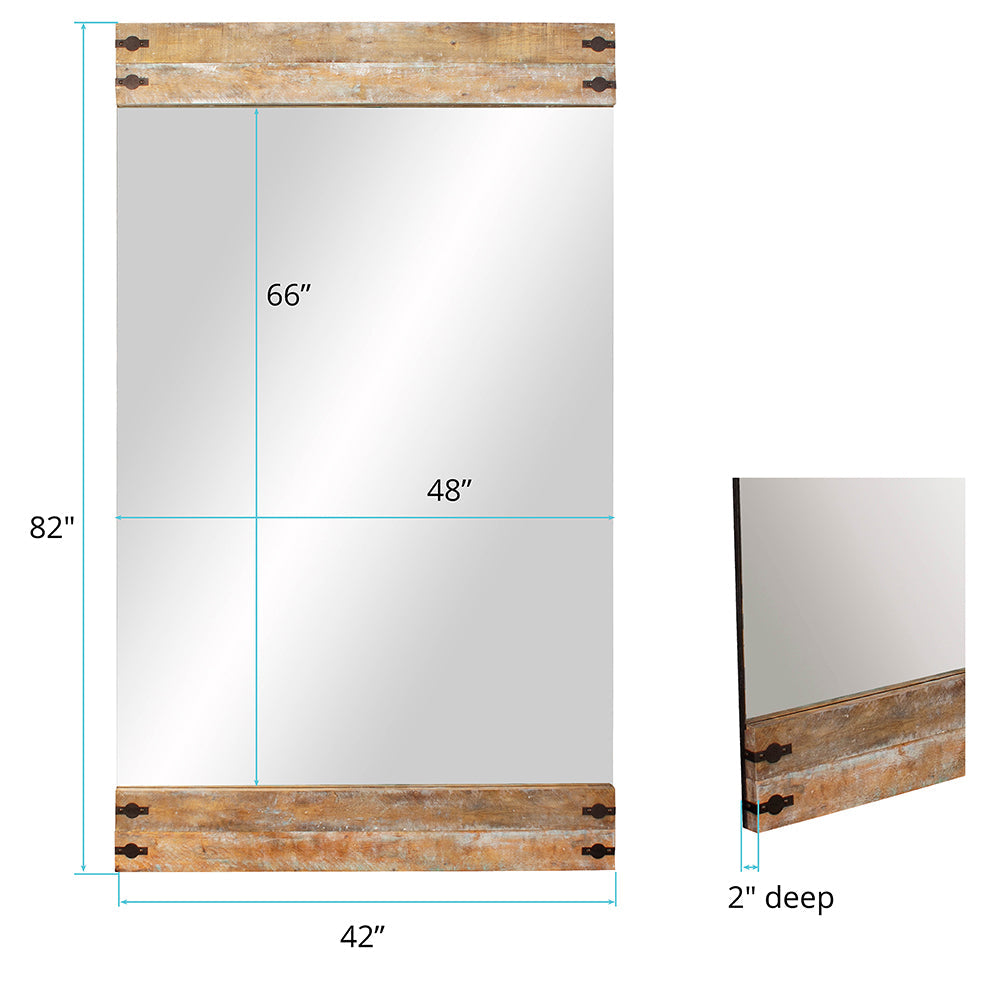 Swank Mirror, dimensions and measurements