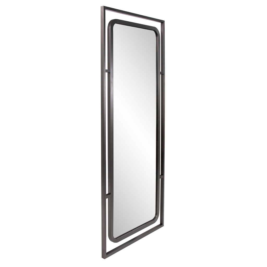 Superb Mirror, angled vertical front view