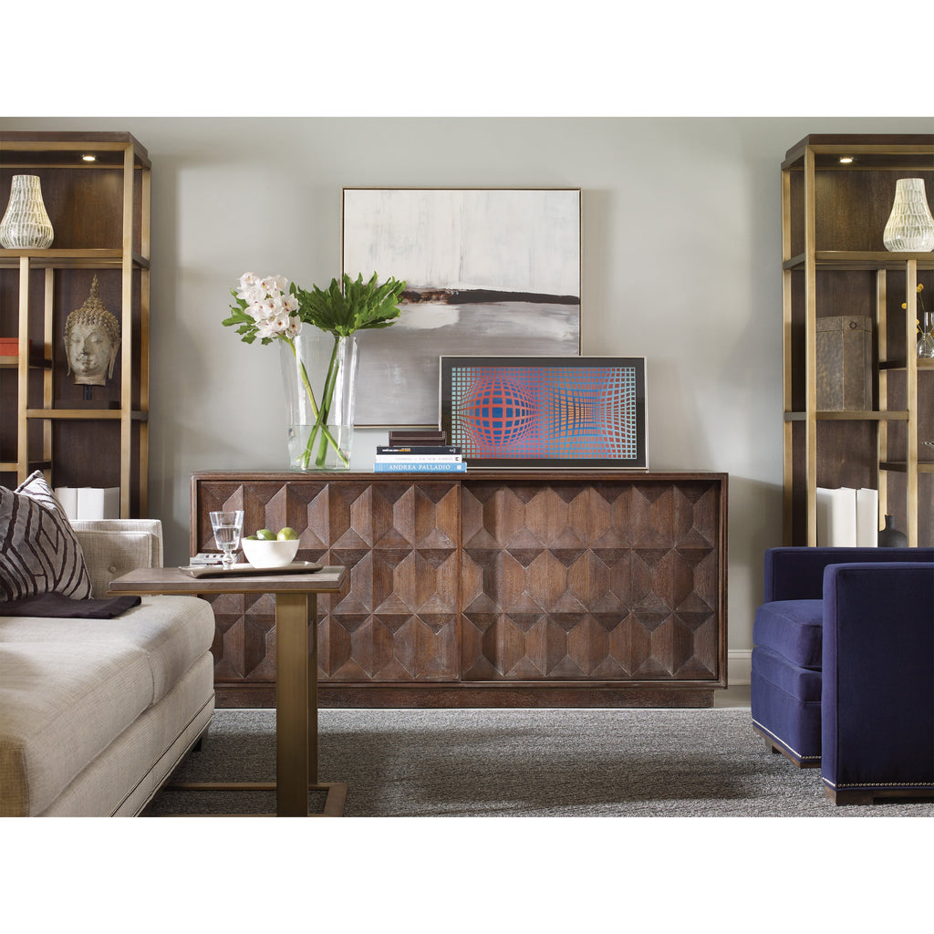 Grayson Entertainment Console, lifestyle view
