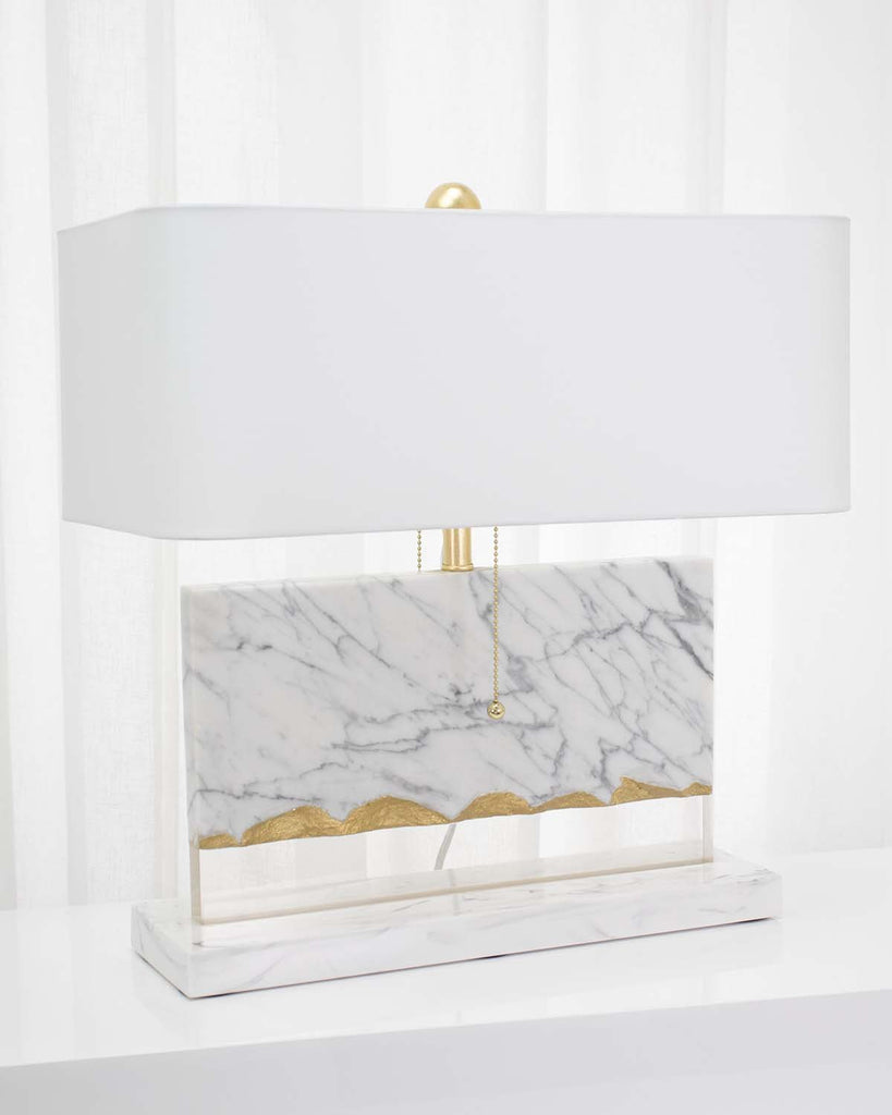 Flotteur Table Lamp, angled view