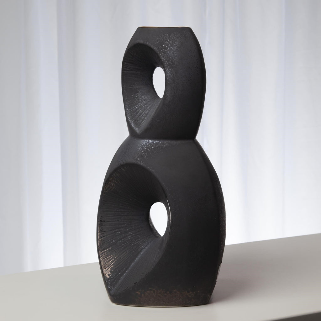 Large Pele Vase, secondary angled view