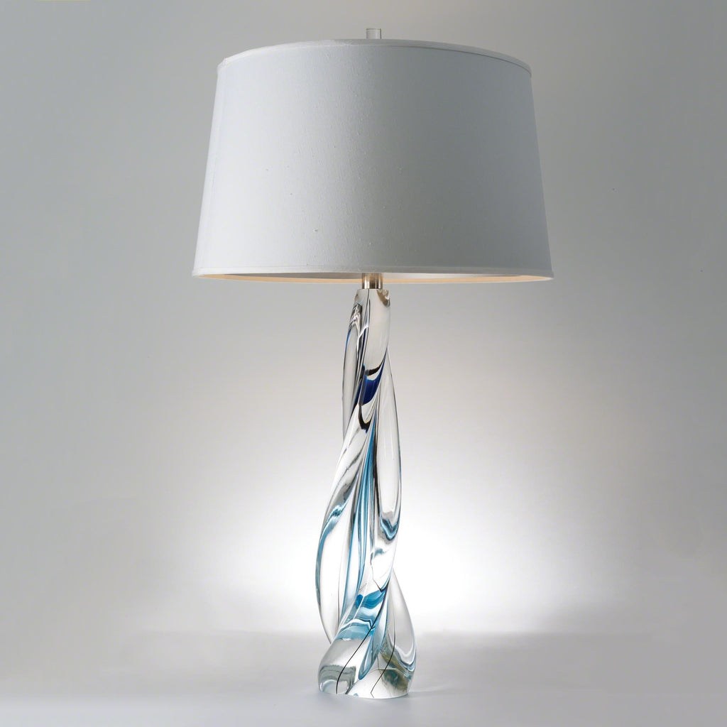 Mermaid Twist Lamp, secondary front view