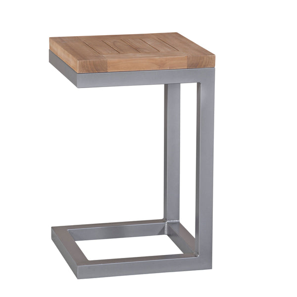 Lola Side Table, angled side view