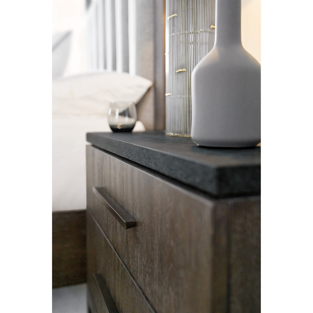 Hapur Stone-Top Nightstand, lifestyle view