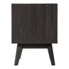 Rustico Nightstand, back view