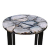 Quartz Accent Table, top angled view