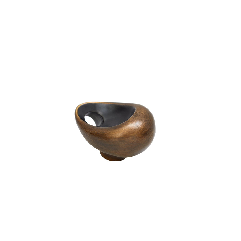 Bazen Abstract Knob, angled side bottom view