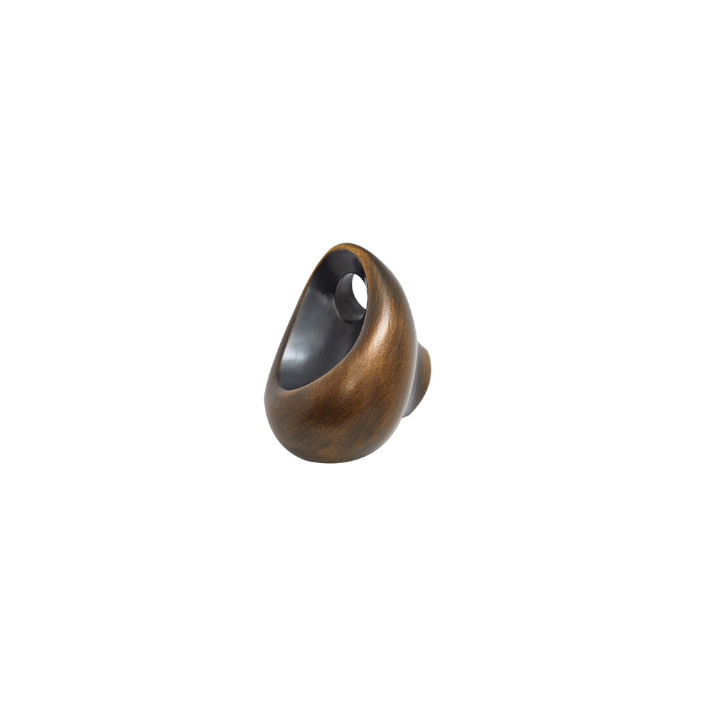 Bazen Abstract Knob, angled side view
