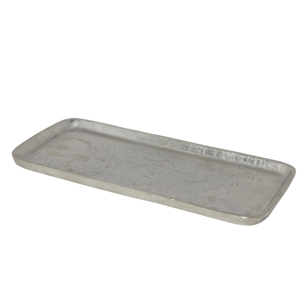 Small Lander Textured Tray, angled view