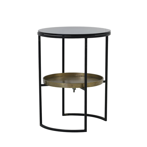 Hank Side Table, angled view