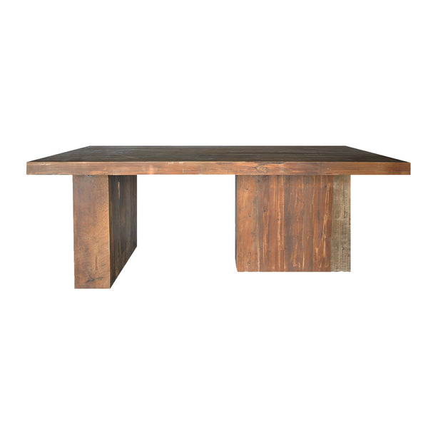 Plade Dining Table, front view