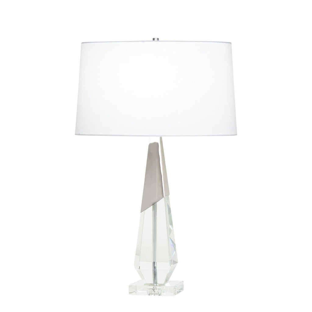 Polished Nickel Venus Table Lamp, front view