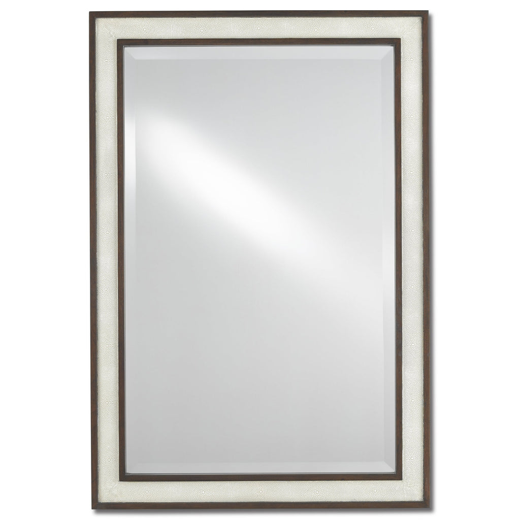 Thom Rectangular Mirror, front view