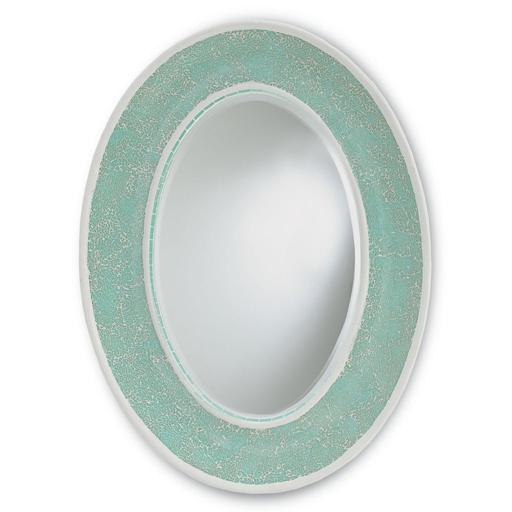 Fresca Oval Mirror, front view