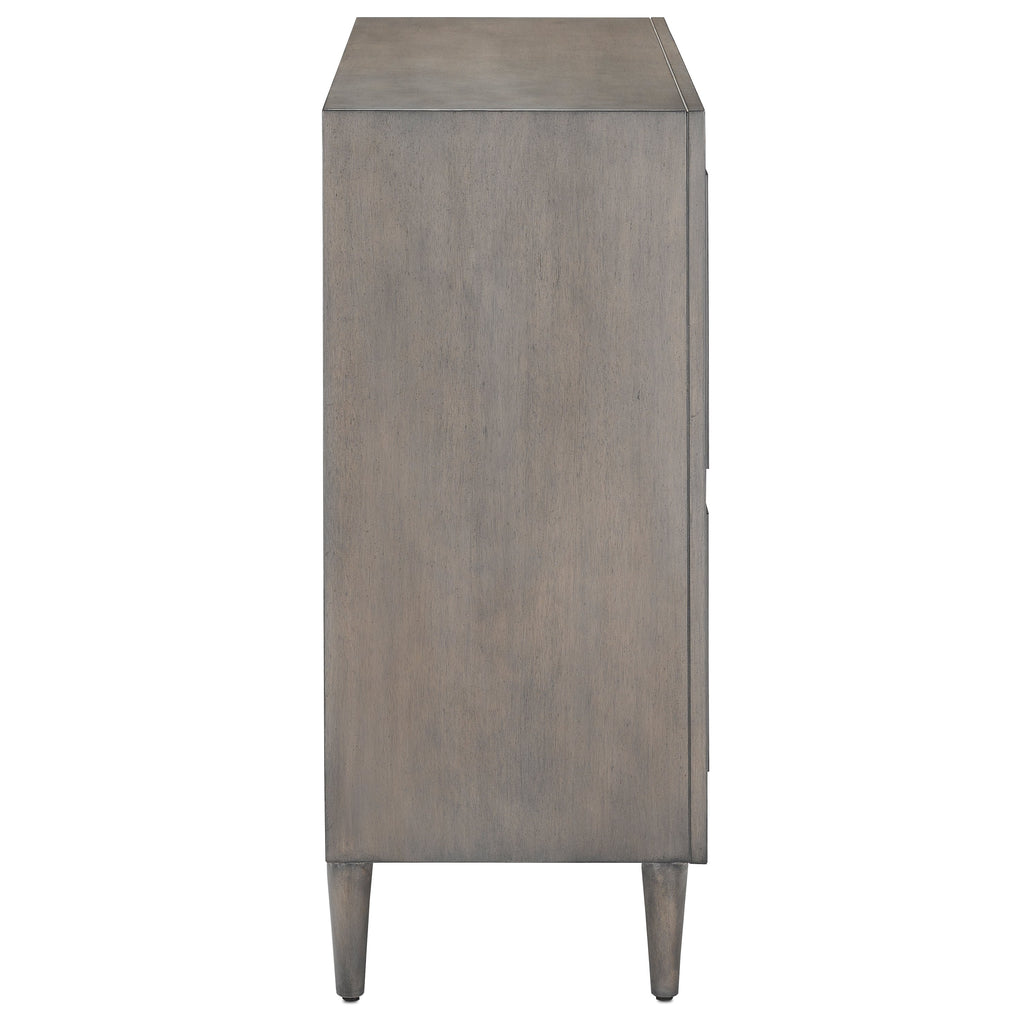 Chateau Gray Okno Cabinet, side view
