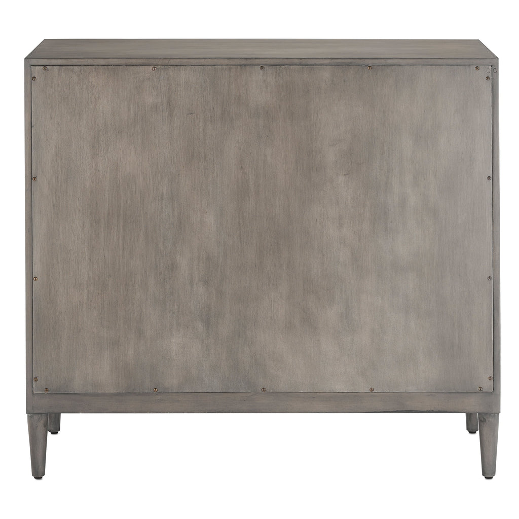 Chateau Gray Okno Cabinet, back view