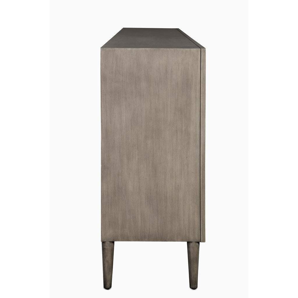 Chateau Gray Okno Credenza, side angled view