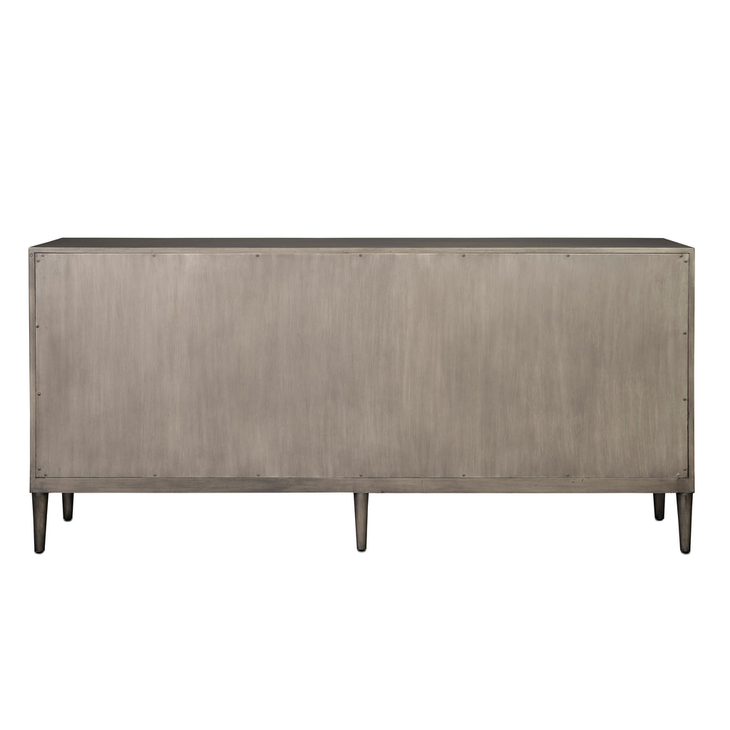 Chateau Gray Okno Credenza, back view