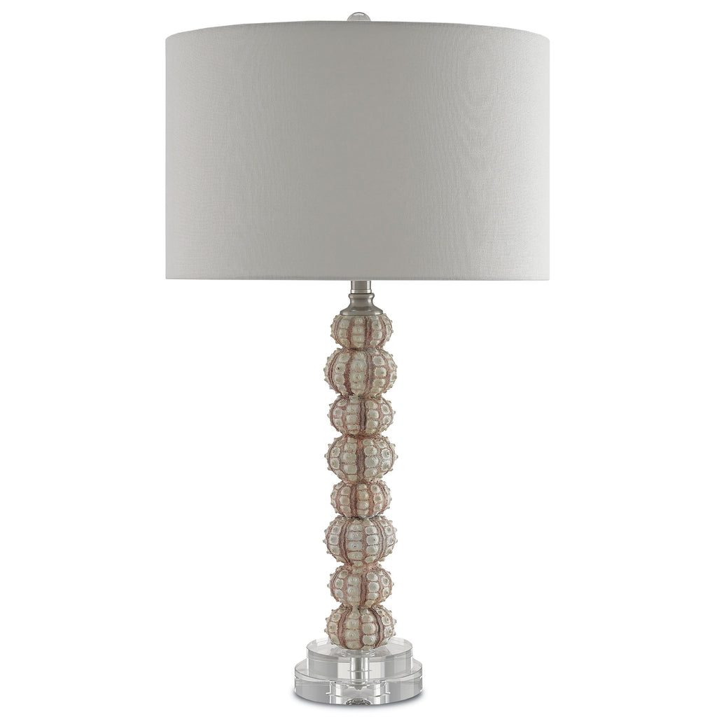 Chiron Table Lamp, front view lights off