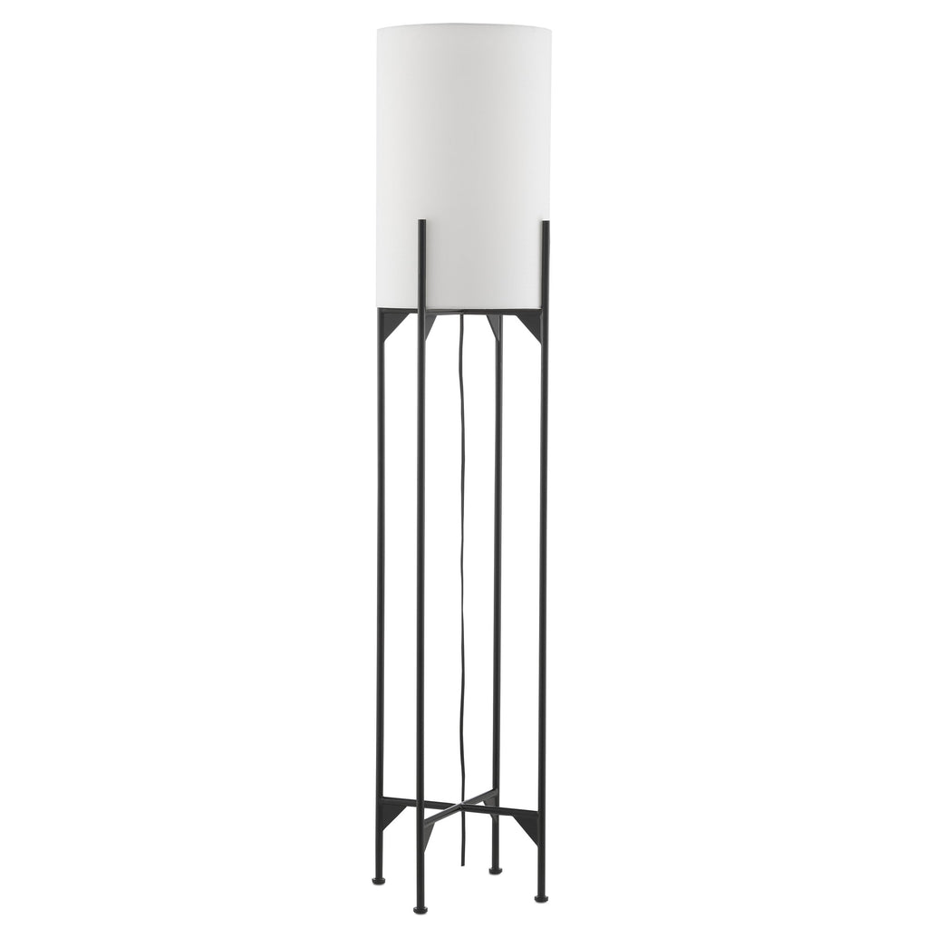 Linterna Floor Lamp, front view, light off view