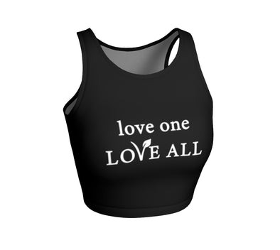 love one LOVE ALL - crop top tank