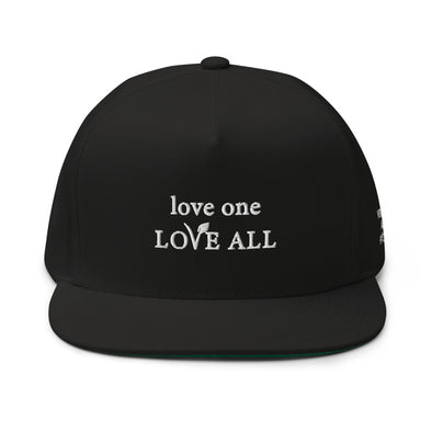 love one LOVE ALL - Flat bill cap