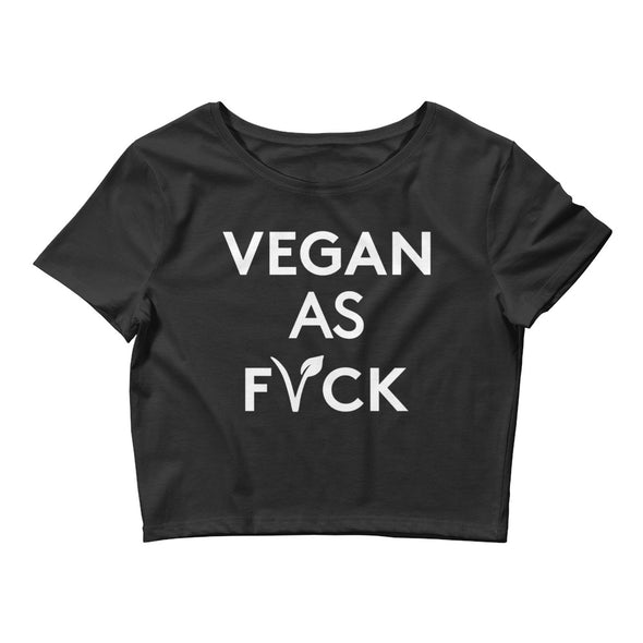 OG Vegan As Fvck - crop tee