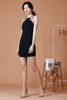 Cut In Bodycon Dress (Black)