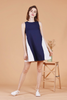 Colourblock Swing Dress