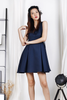 D-Ring Skater Dress (Navy)