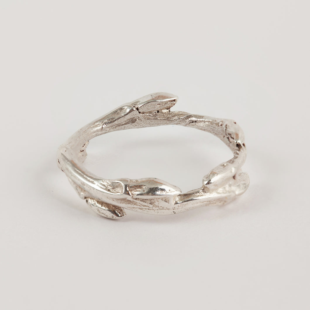 Twig Ring Silver Collection
