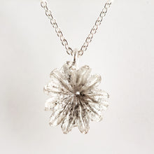 Load image into Gallery viewer, Buy Sterling Silver Poppy Seed Heads On Silver Chain small