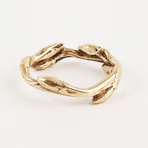 Twig Collection 9ct Gold Ring