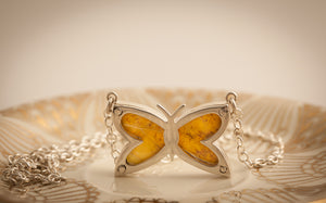 Butterfly shaped Butterfly pendant.
