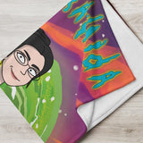 Custom Rick and Morty Portrait - Blanket - Mortyfication Get yourself painted as a Rick and Morty character. We create a digital portrait of you in the style of your favorite tv show