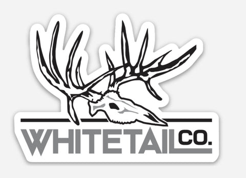 "3"" Whitetail Company Decal"
